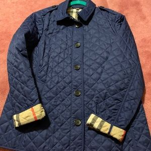 Authentic Quilted Burberry Jacket